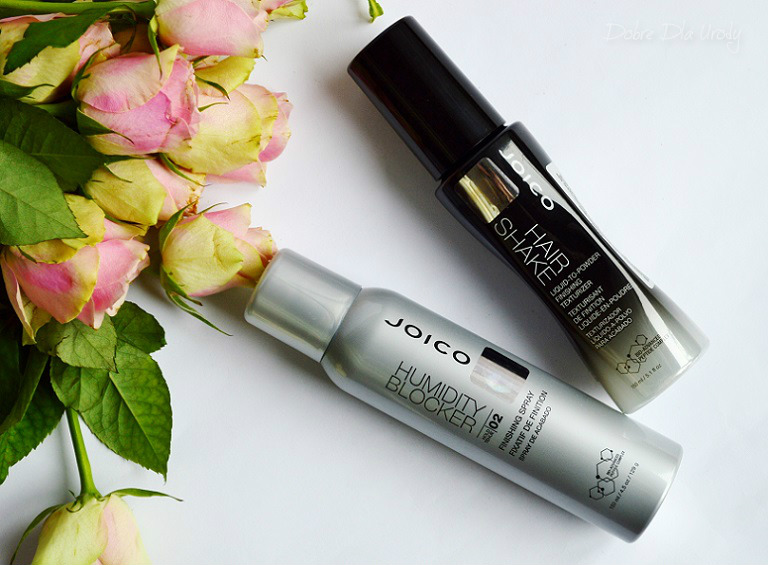 Joico Humidity Blocker Finishing Spray oraz Hair Shake