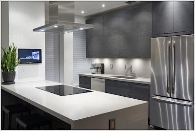eclairage sous l 39 armoire pour une touche magique dans votre cuisine d cor de maison. Black Bedroom Furniture Sets. Home Design Ideas