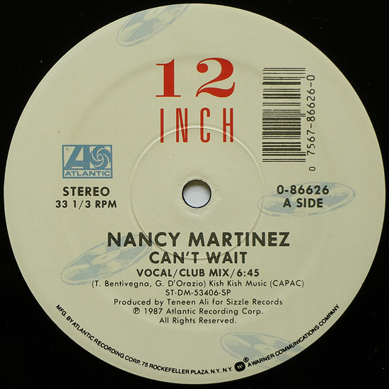 Rare and obscure music nancy martinez for 1988 music charts