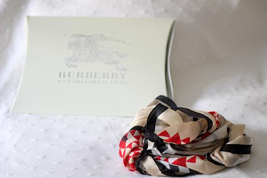 pañuelo de burberry