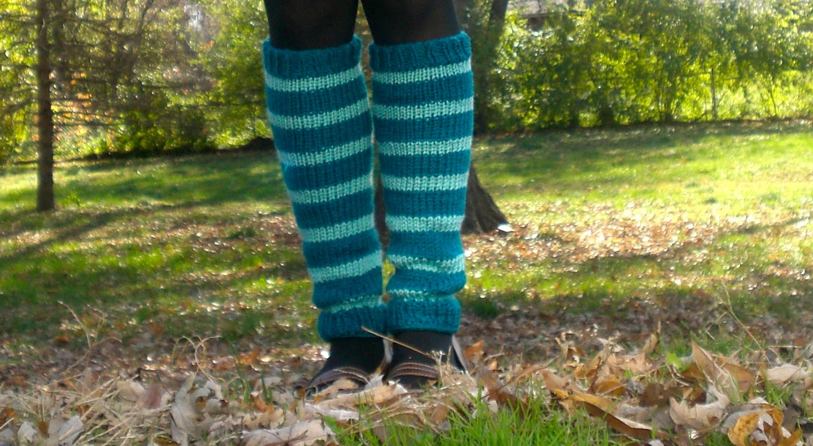 100% Made By Me: Knitted Leg Warmers FREE Pattern