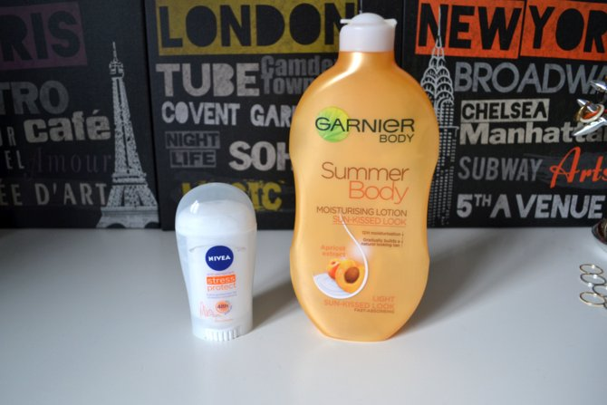 Garnier Summer Body Moisturising Lotion in Light