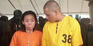 Pasangan suami istri ini di tangkap saat melancarkan aksinya