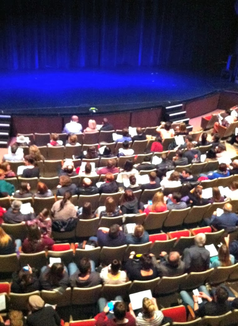 Audience Myer Horowitz Theatre