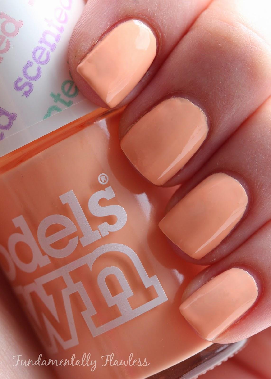 Models Own Peach Melba swatch