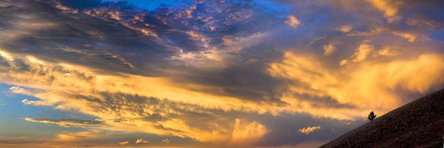 Warm Montana Sunset (c) John Ashley