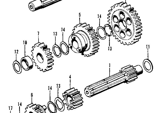 Tear it up, fix it, repeat: CT70 Crankcases going ther