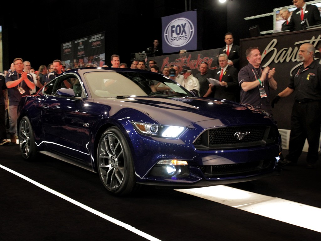 First Retail Unit of 2015 Ford Mustang Sells for $300,000