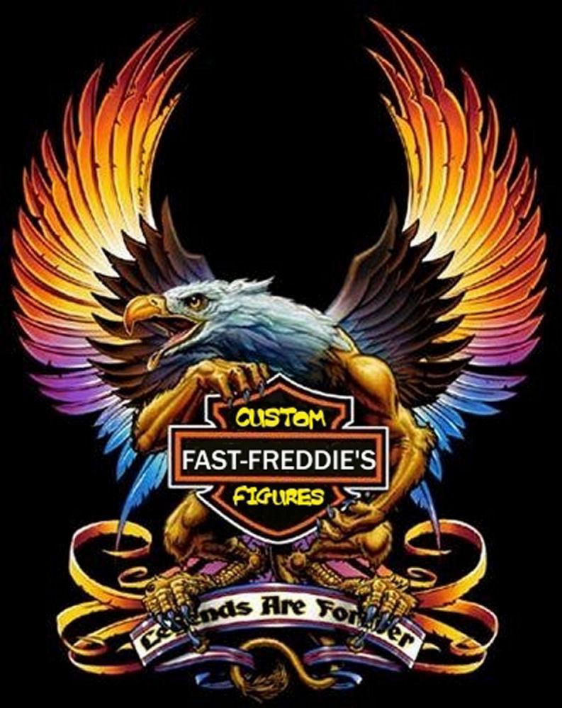 FASTFREDCUSTOMFIGURES: AC/DC HARLEY-DAVIDSON PAINTING