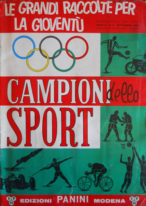 Figurina//Sticker n VAN DE KERCKHOVE -Rec CAMPIONI DELLO SPORT 1966//67 249