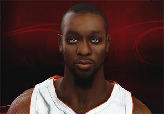 NBA 2K13 Kemba Walker Cyberface Patch
