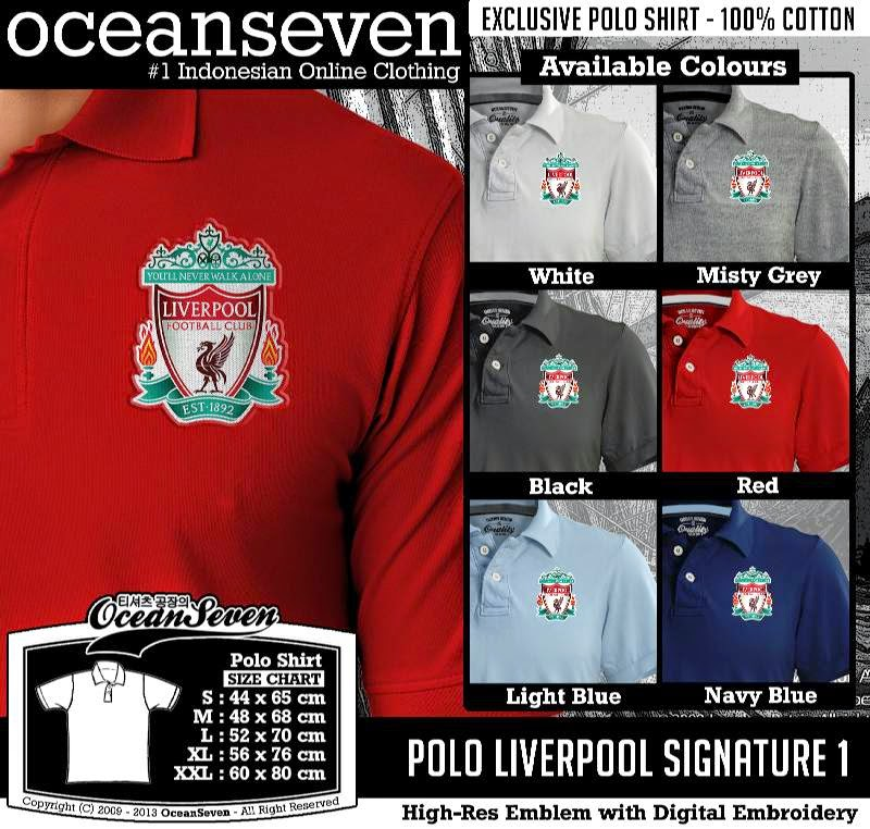 Kaos Polo Liverpool Signature 1