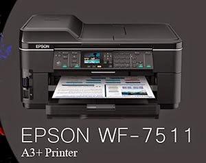 jual printer epson wf 7511