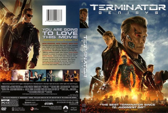 Terminator: Génesis – Castellano – DVD9