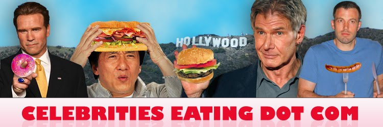 Celebrities Eating Dot Com