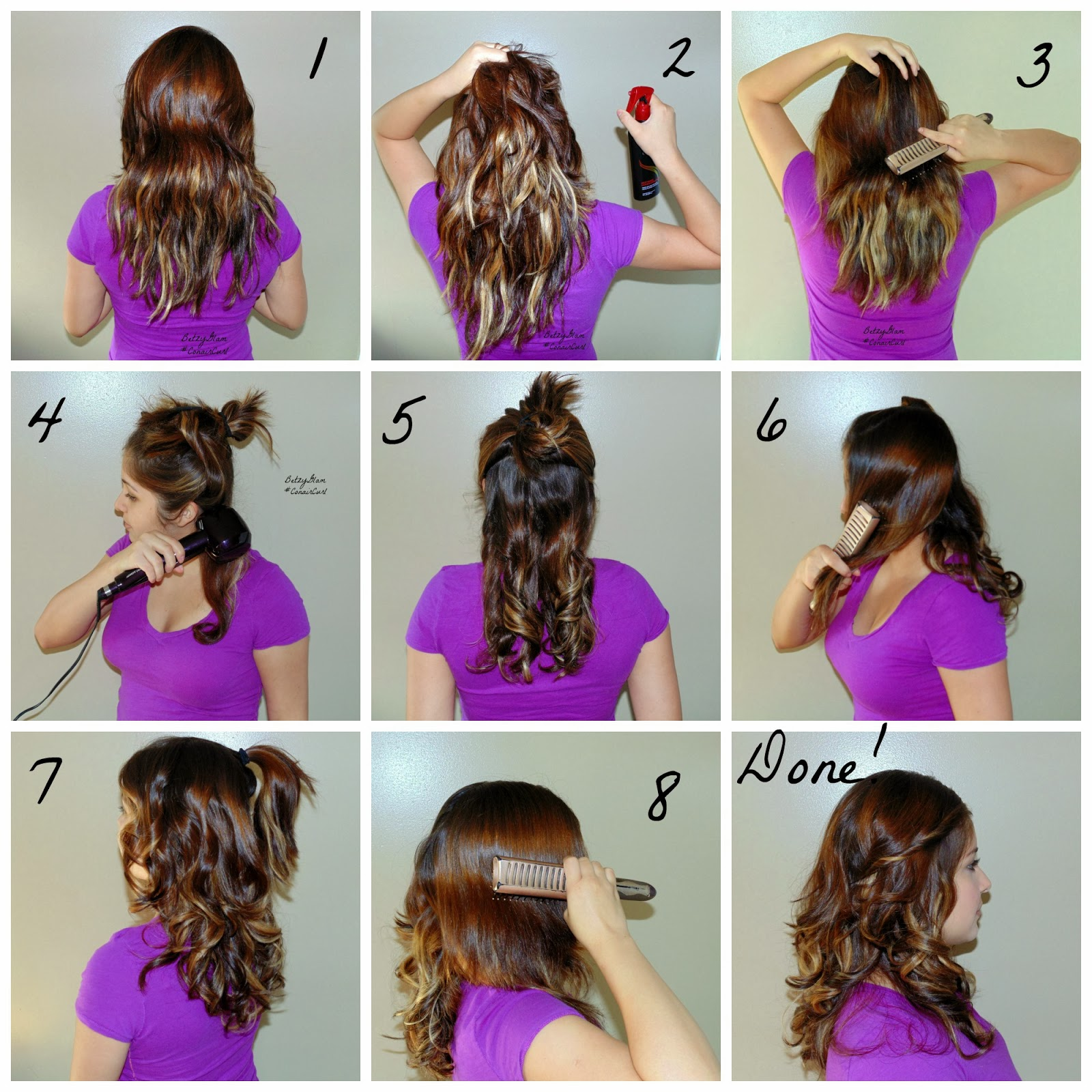 How To Use Miracurl On Shorter Hair Infiniti Pro Conair