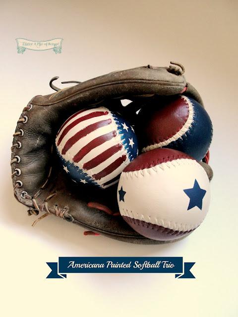 Americana Baseballs or Softballs