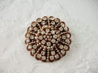 vintage stiilis ehted pross kristallidega pärlitega mdmButiik