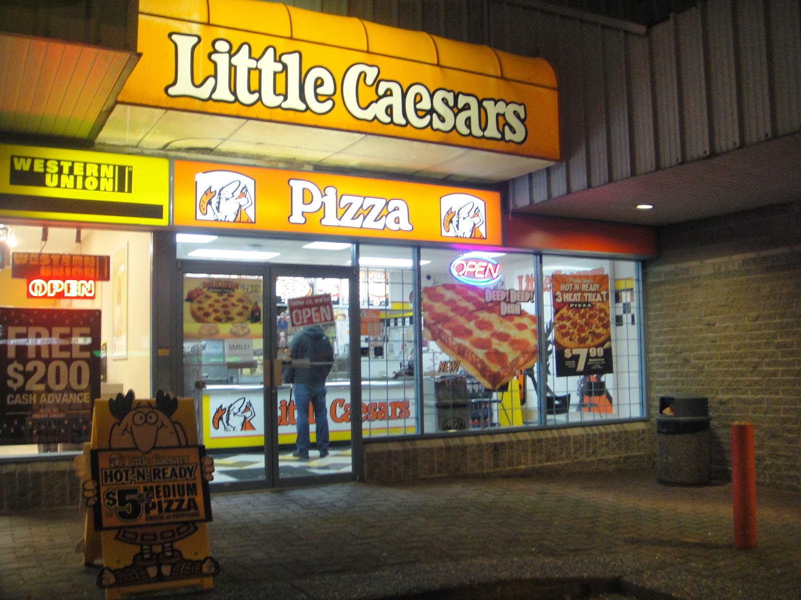 Little Caesars is the third largest pizza chain in the United States, behind Pizza Hut and Domino's Pizza. It was founded in Its menu is divided into three sections- pizza, free pizzas, and signature favorites/5().