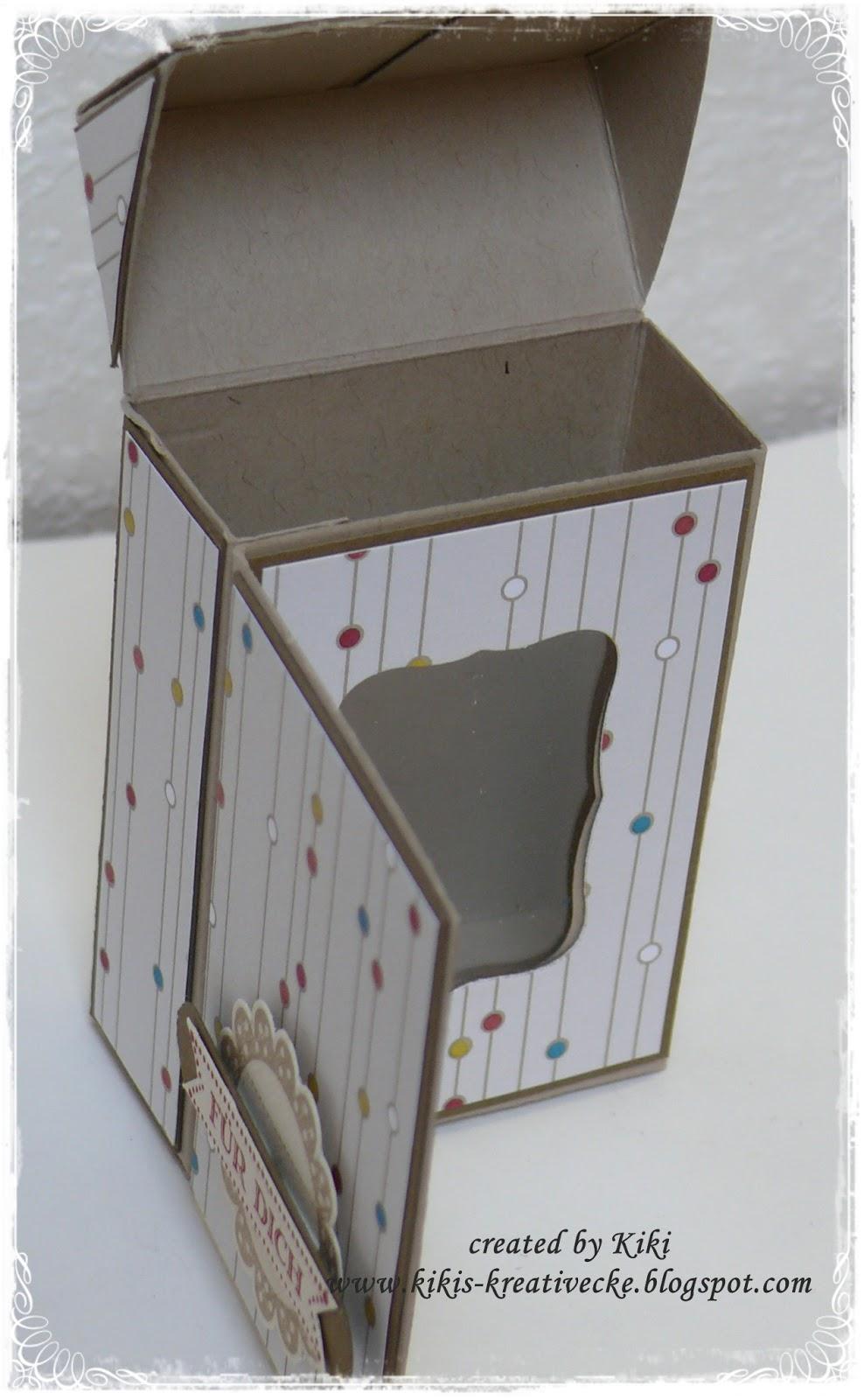 kiki 39 s kreativ ecke flip top box. Black Bedroom Furniture Sets. Home Design Ideas