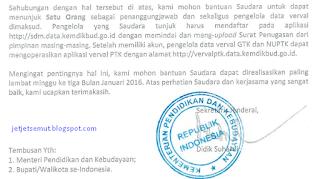 surat penunjukkan operator data verval gtk