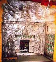 Padukas of Narsimha Saraswati at Narsobachi Wadi