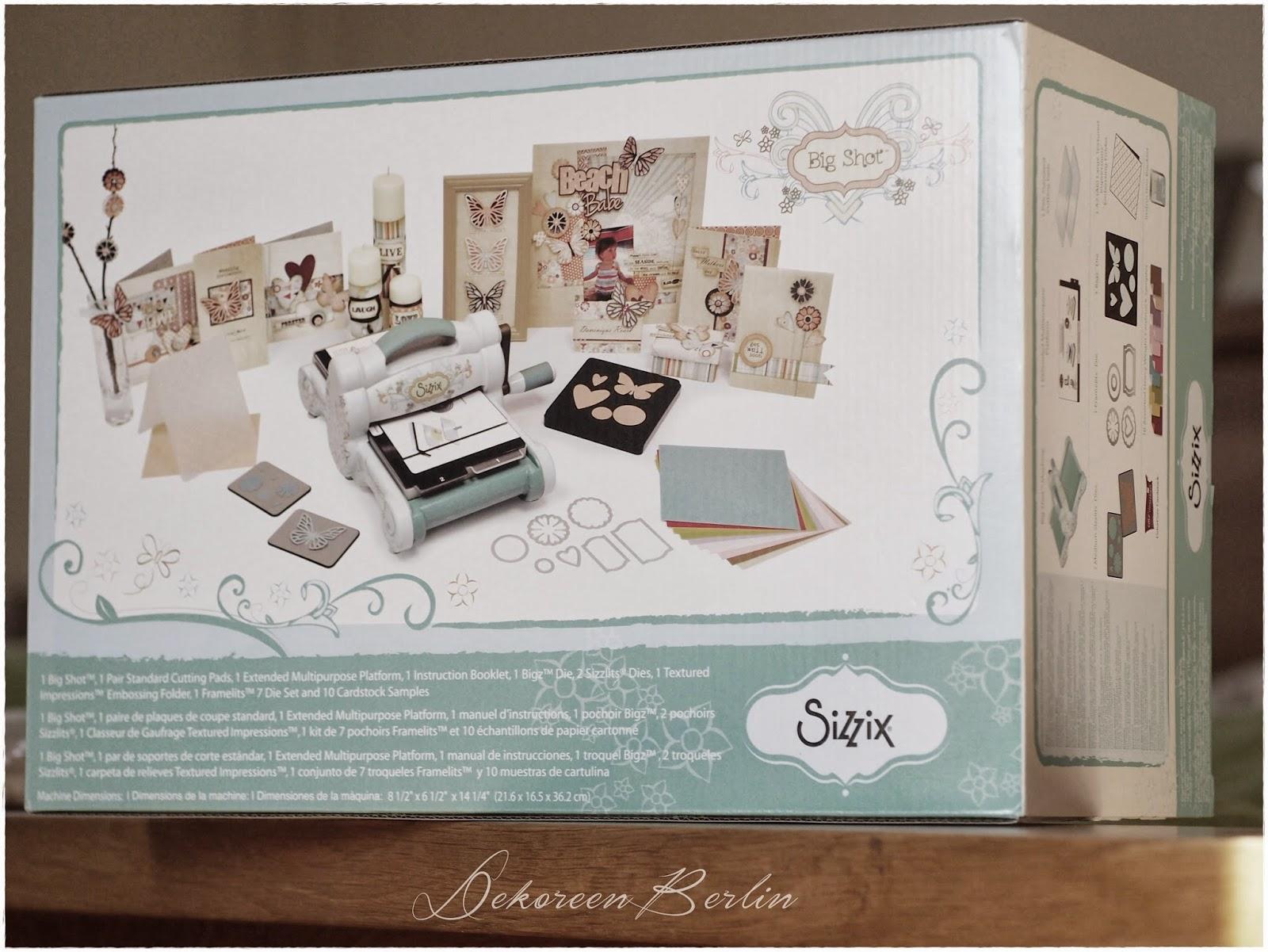 dekoreenberlin freitagsbl mchen big shot. Black Bedroom Furniture Sets. Home Design Ideas