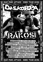 DISKOBRA // RÁKOSI TOUR 2016