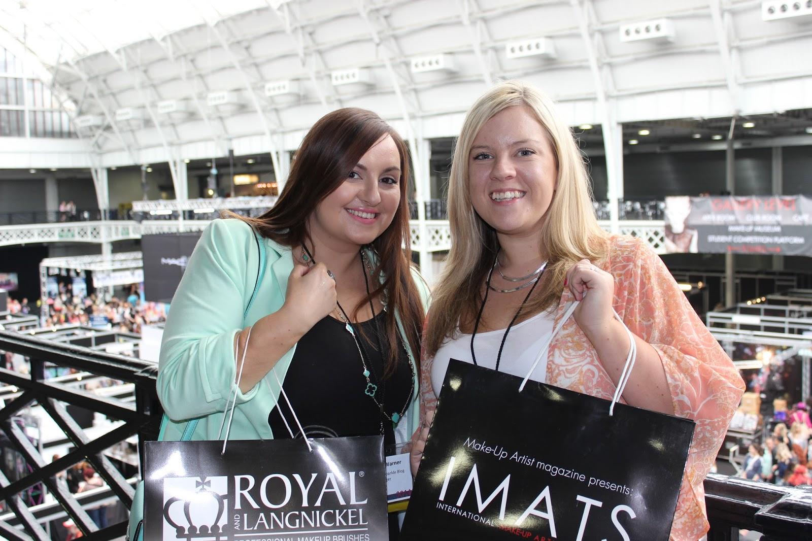 IMATS london 2014 bloggers
