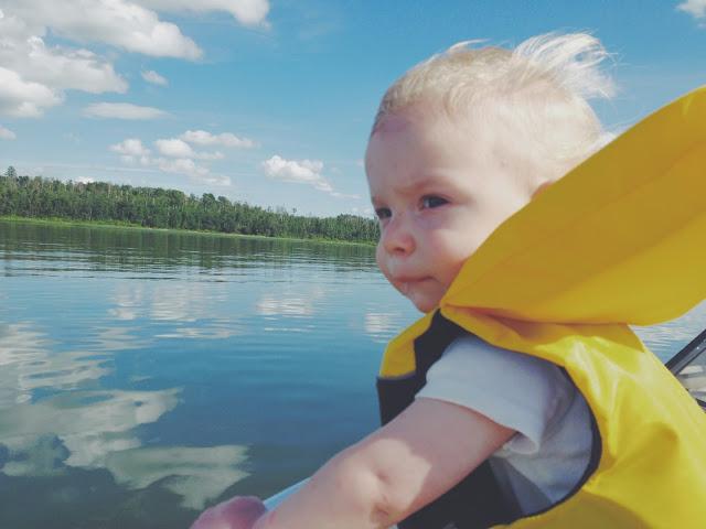 Lake baby