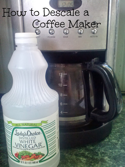 Coffee Maker Vinegar : Smith and Blessings: Messy Monday: How to Descale a Coffee Maker