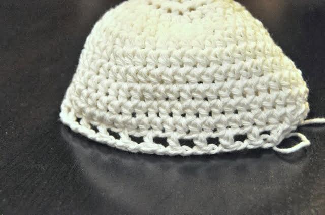 طريقة كروشيه قبعة بنات