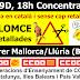 #19D 18:00h Concentració al carrer Mallorca/Llúria de Barcelona