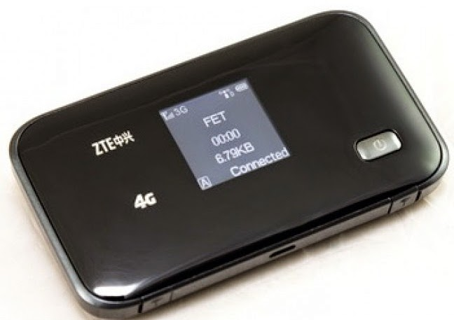 ZTE MF93E portable 4G wireless mobile hotspot