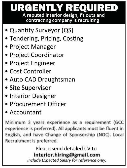 project manager jobs qatar