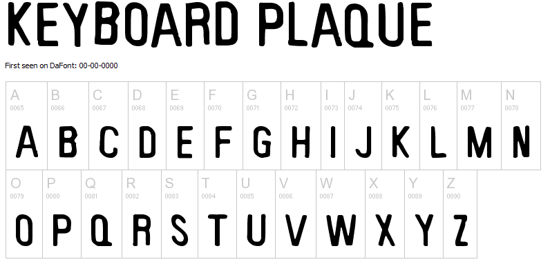 CODANK Charlotte Web Design: Ten awesome, grungy rock-n-roll fonts