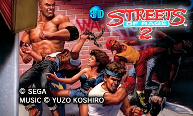 Impresiones con 3D Streets of Rage 2. ¡Tortazos de barrio en 16 bits!