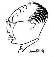 Caricatura de Rafael Lloréns
