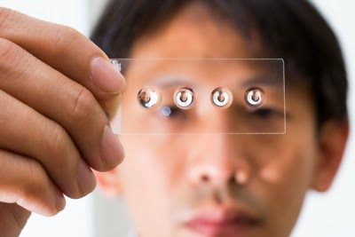 DIY lens for microscope