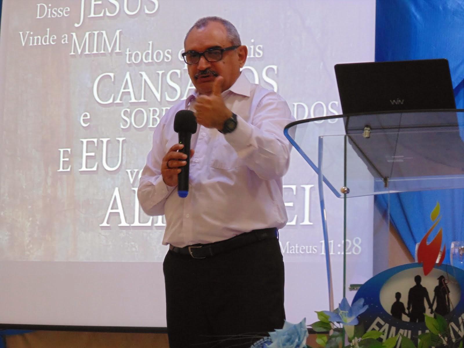 Ministrando sobre a Teologia do Cansado
