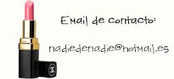 Email de contacto: