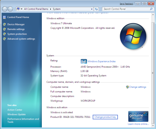 [������!] ��������� Windows 7 32/64 bit. Windows 7 ����/���� ...