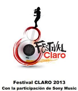festival claro 2013 peru