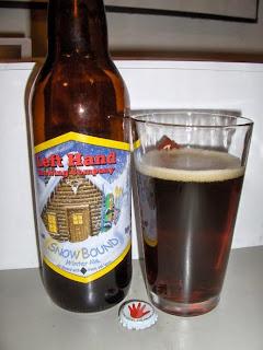 Left Hand Snowbound Winter Ale