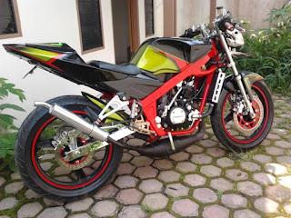 Modifikasi Kawasaki Ninja 150R Cecen