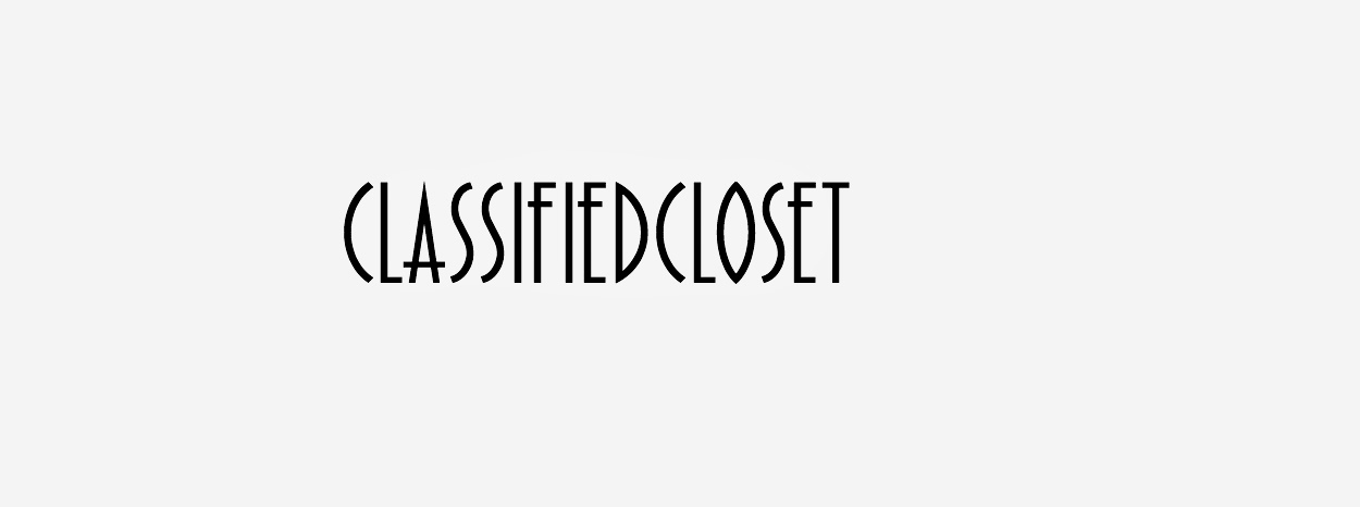 Classified Closet