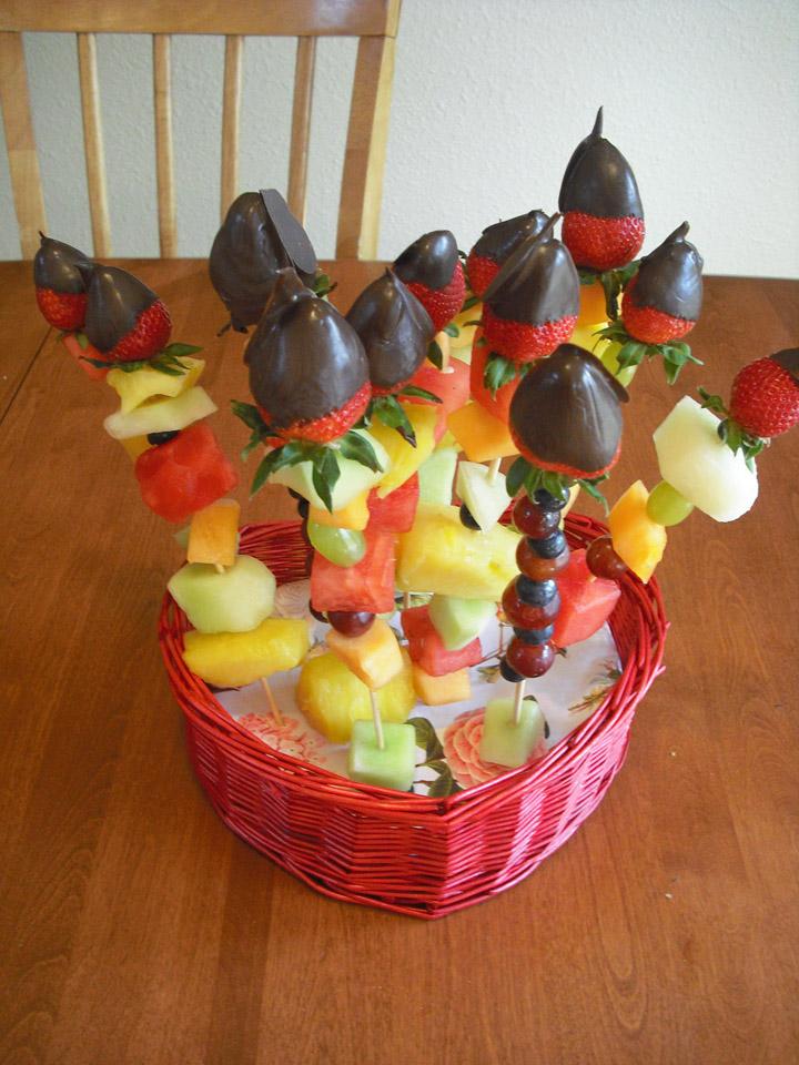 Fine Fettle Valentine Fruit Bouquets