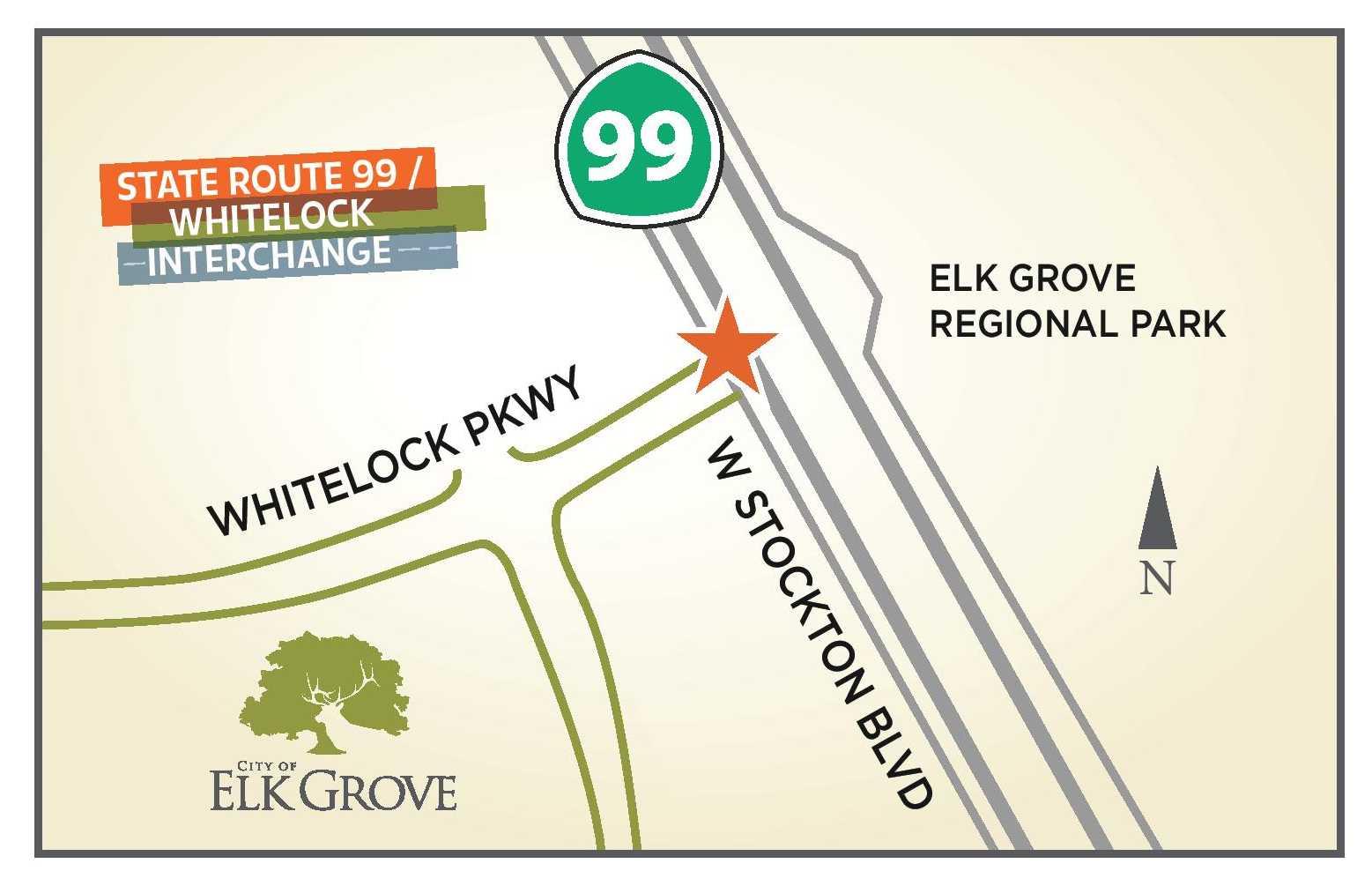 Elk Grove Releases Preliminary Information on Proposed Whitelock-99 Interchange