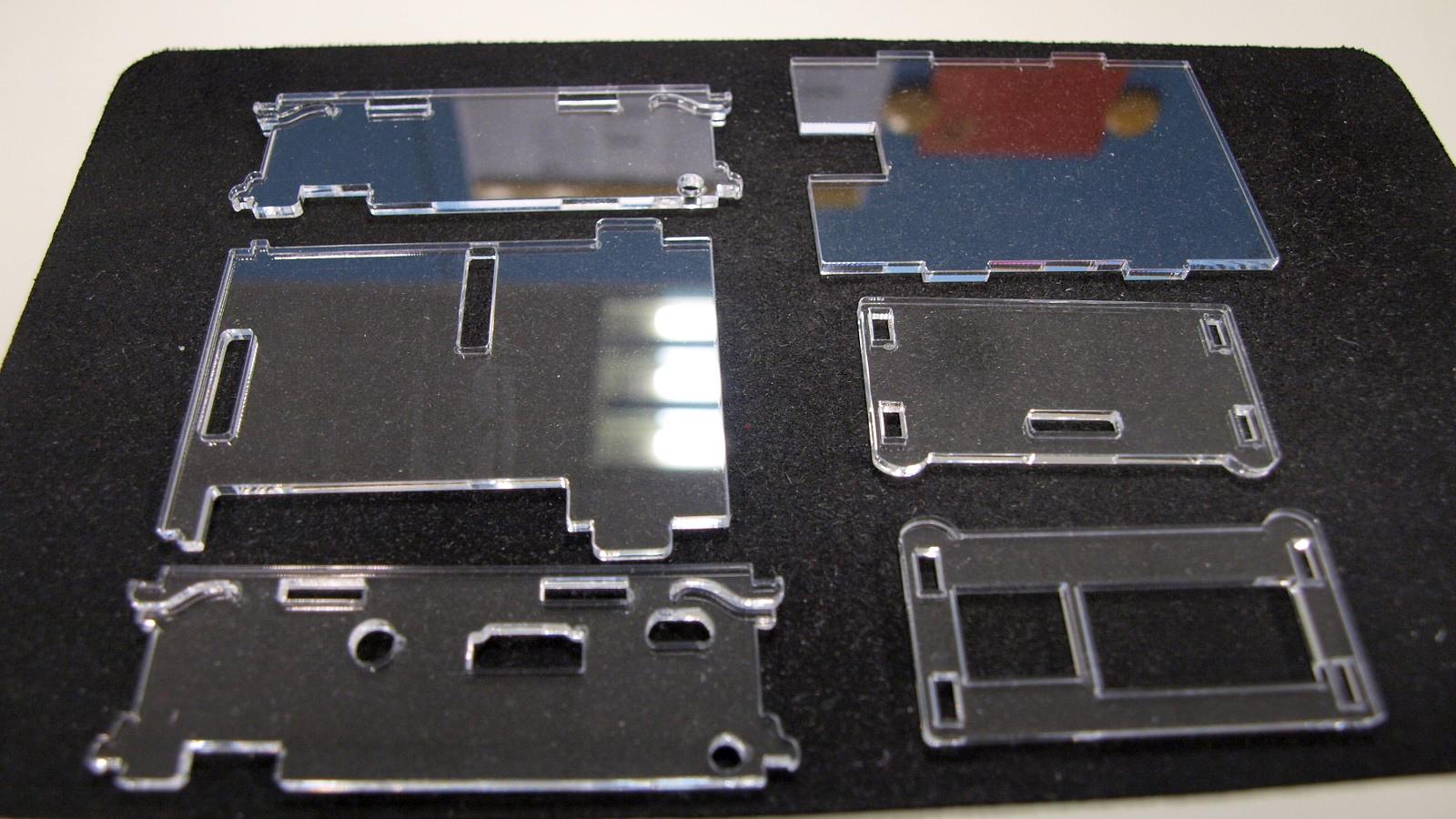 樹莓派 Raspberry Pi Rev. 2 Model B+ 壓克力外殼
