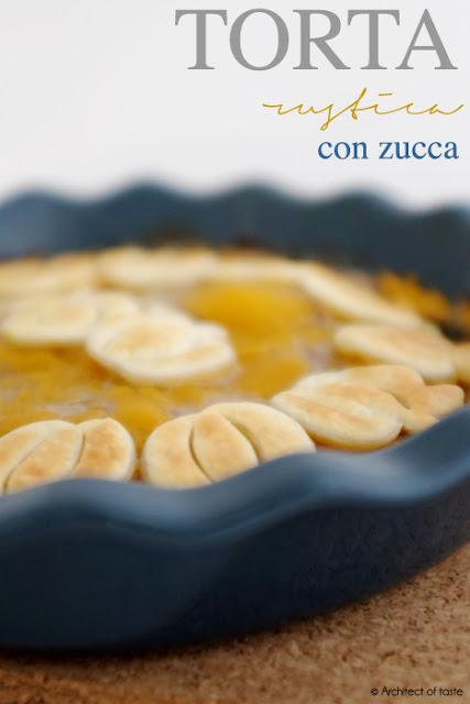 torta rustica con zucca